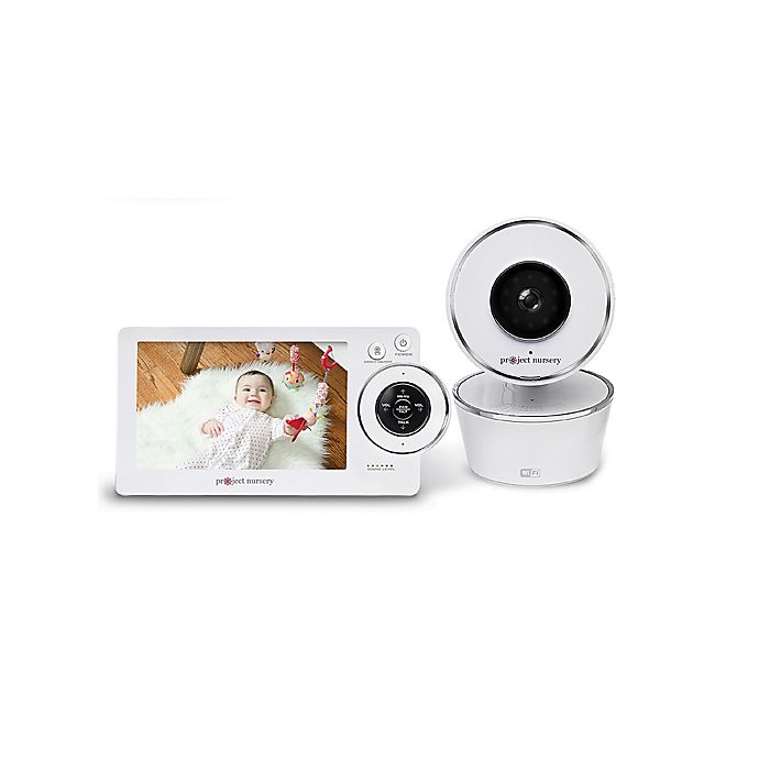 Project Nursery 5 Inch Video Baby Monitor System With Wifi
