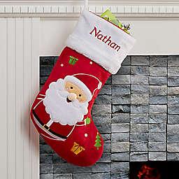 Santa Claus Lane Santa Christmas Stocking