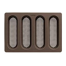 Lékué 4-Cavity Perforated Mini Baguette Pan