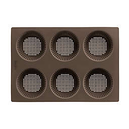 Lékué Perforated Bread Roll Pan in Brown