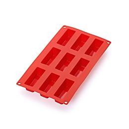 Lékué 9-Cavity Silicone Mini Cake Pan in Red