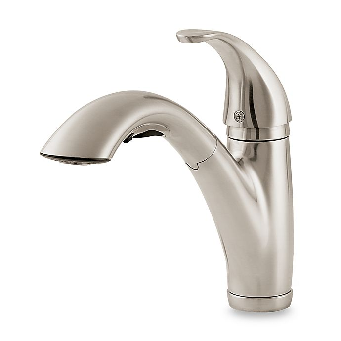 Alternate image 1 for Price Pfister® Parisa Pull Out Kitchen Faucet in Stainless Steel