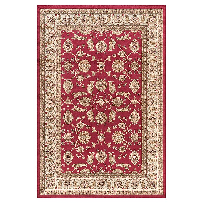 Alternate image 1 for Jewel Antep 7-Foot 10-Inch x 9-Foot 10-Inch Area Rug in Red