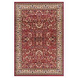 Concord Global Trading Jewel Sarouk 6-Foot 7-Inch x 9-Foot 3-Inch Area Rug in Red