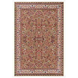 Concord Global Trading Jewel Sarouk 7-Foot 10-Inch x 9-Foot 10-Inch Area Rug in Green