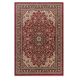 Jewel Heriz 5-Foot 3-Inch x 7-Foot 7-Inch Area Rug in Red