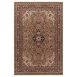 Jewel Heriz 7-Foot 10-Inch x 9-Foot 10-Inch Area Rug in Green