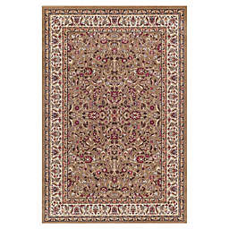 Jewel Kashan 2-Foot 7-Inch x 4-Foot Accent Rug in Green