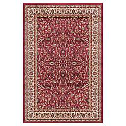 Jewel Kashan 3-Foot 11-Inch x 5-Foot 7-Inch Area Rug in Red