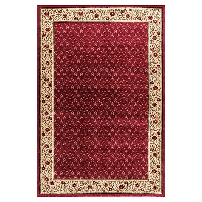 Alternate image 1 for Jewel Harmony 7-Foot 10-Inch x 9-Foot 10-Inch Area Rug in Red