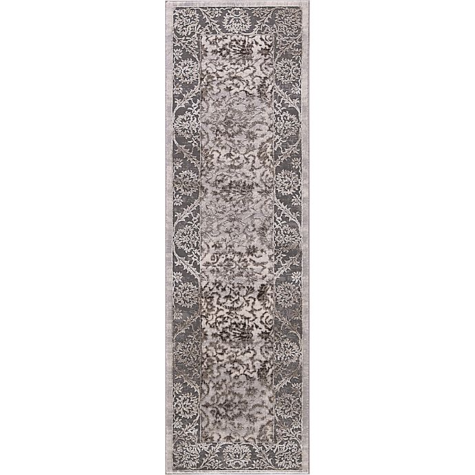 Alternate image 1 for Thema Vintage 2-Foot 3-Inch x 7-Foot 3-Inch Runner in Brown/Grey