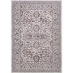 Thema Vintage 7-Foot 10-Inch x 10-Foot 6-Inch Area Rug in Brown/Grey