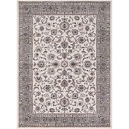 Kashan Mahal 3-Foot 3-Inch x 4-Foot 7-Inch Accent Rug in Beige