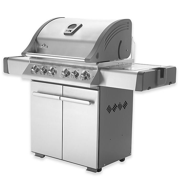 Alternate image 1 for Napoleon LEX485 Gas Grill with Rear and Side Infrared Burners