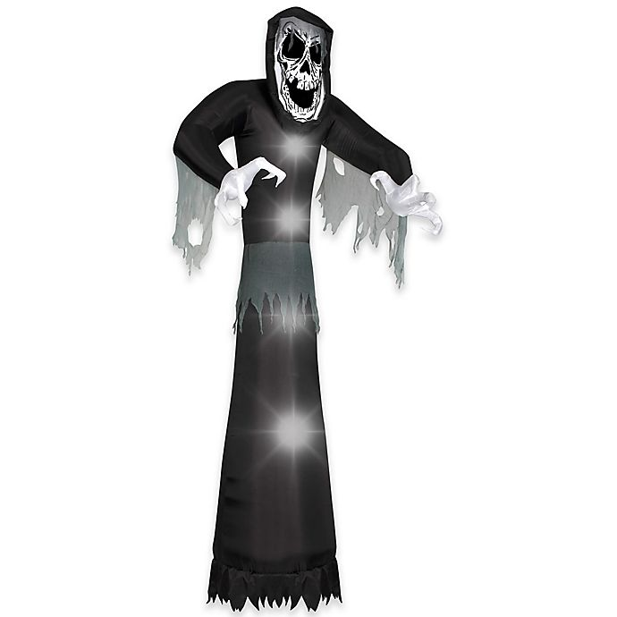 Alternate image 1 for National Tree Company® 10-Foot Giant Inflatable Beckoning Reaper