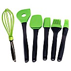 BergHOFF® Geminis 6-Piece Silicone Utensil Set in Green