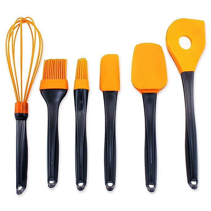 Alternate image 1 for BergHOFF® Geminis 6-Piece Silicone Utensil Set