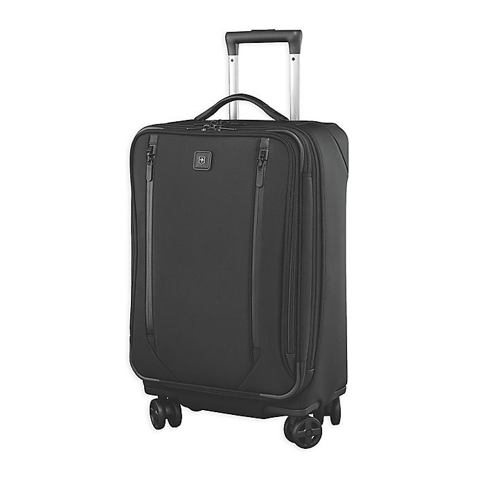 Alternate image 1 for Victorinox® Lexicon 2.0 24-Inch Spinner Checked Luggage in Black