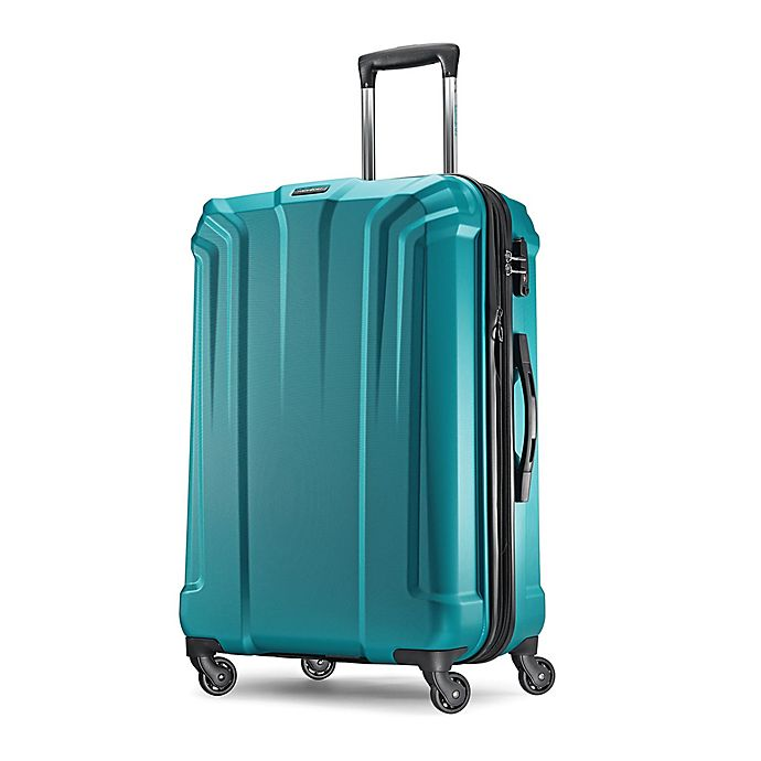 Alternate image 1 for Samsonite Opto 25-Inch Hardside Spinner Checked Luggage in Electric Blue