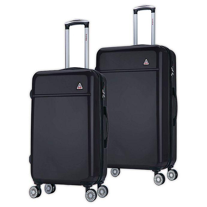 Alternate image 1 for InUSA Avila Hardside Spinner Checked Luggage