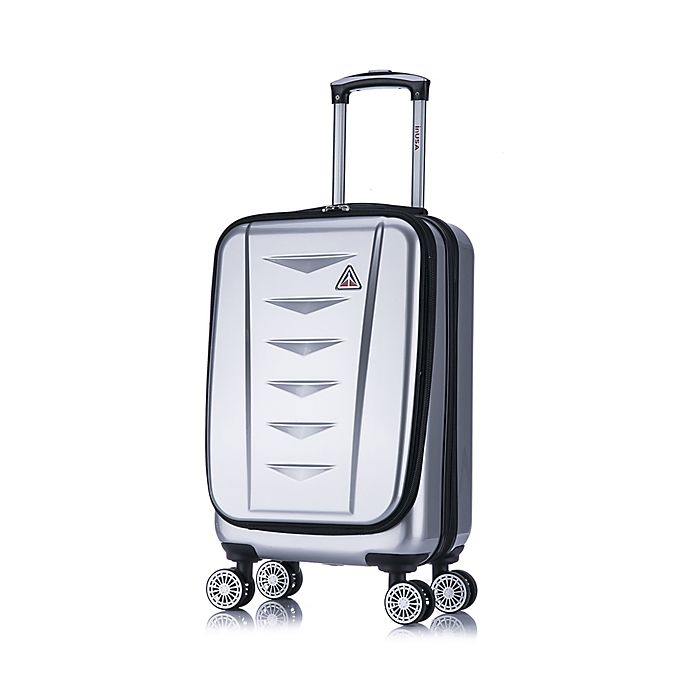 Alternate image 1 for InUSA Airworld 20-Inch Hardside Spinner Carry-On Luggage