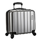 Latitude 40°N™ Ascent 16-Inch Hardside Spinner Underseat Luggage in Grey