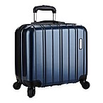 Latitude 40°N™ Ascent 16-Inch Hardside Spinner Underseat Luggage in Blue