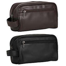 Ben Sherman Mayfair Top Zipper Single Compartment Travel Kit