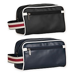 Ben Sherman Regent's Park Single Compartment Top Zip Travel Kit