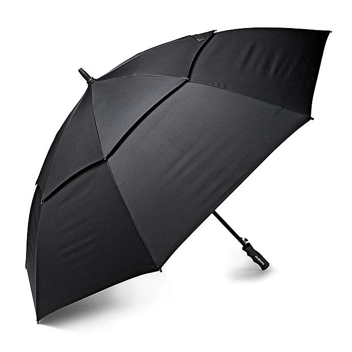 Alternate image 1 for Samsonite® Windguard Golf Umbrella in Black