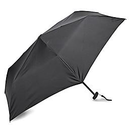 Samsonite® Manual Flat Compact Umbrella in Black