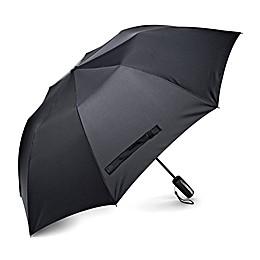 Samsonite® Auto Open Travel Umbrella in Black