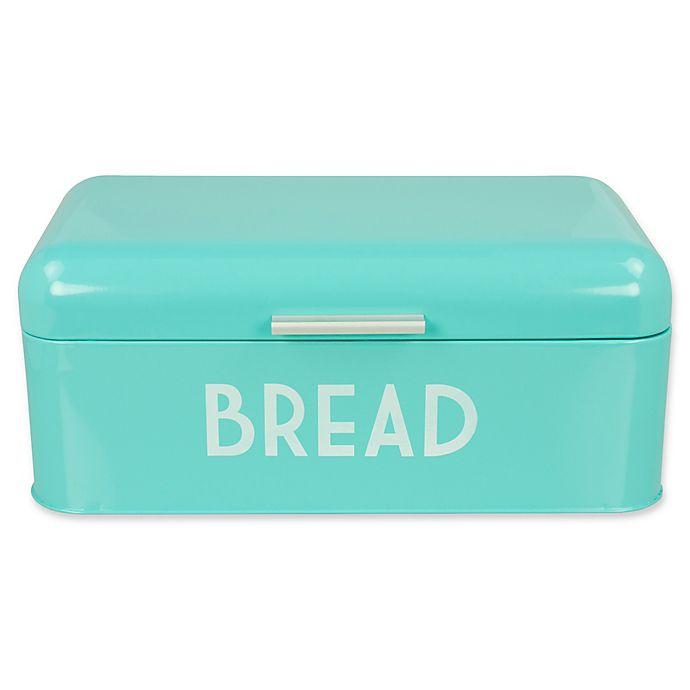 Alternate image 1 for Home Basics® Steel Bread Box