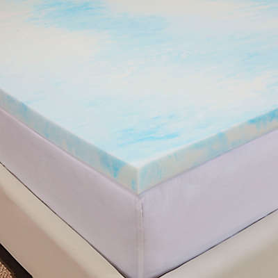 Authentic Comfort® Gel Swirl 1.5-Inch Memory Foam Mattress Topper