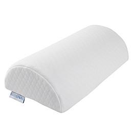 Bluestone Memory Foam Back/Lumbar Half Moon Pillow