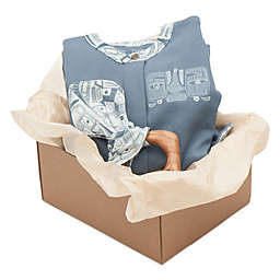 Finn + Emma® 2-Piece Mirage Organic Cotton Footie and Teething Ring Gift Set