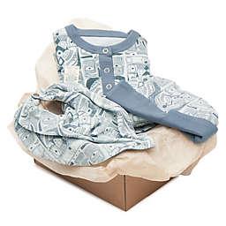 Finn + Emma® 3-Piece Totem Organic Cotton Footie, Bib and Hat Gift Set
