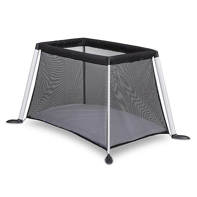 Alternate image 1 for phil&teds® Traveller™ Portable Crib in Black