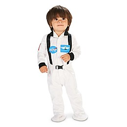 Astronaut Child's Halloween Costume in White