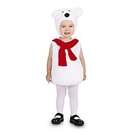 Cozy Polar Bear Child's Halloween Costume