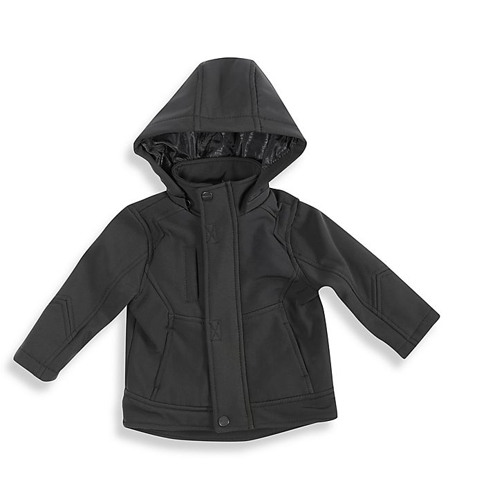 895c21c7861 Urban Republic Hooded Soft-Shell Jacket in Black