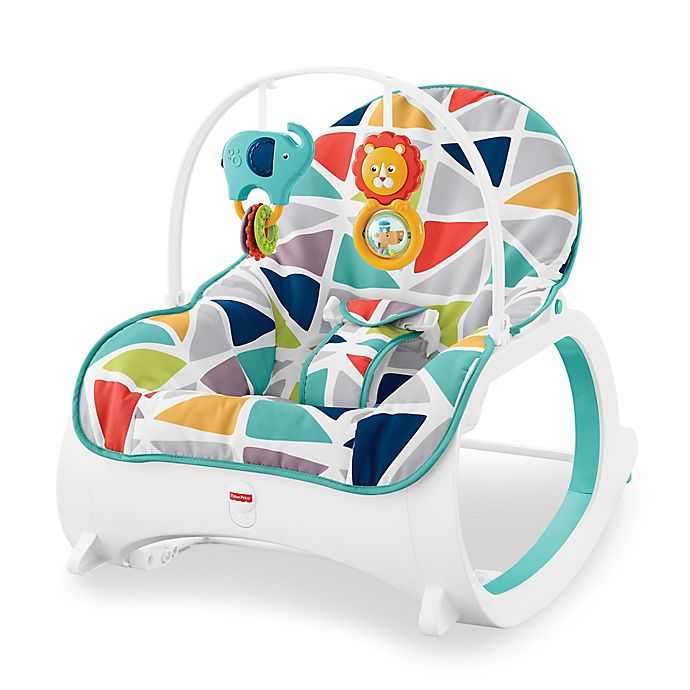 Alternate image 1 for Fisher-Price® Infant-to-Toddler Rocker in Geo Sails