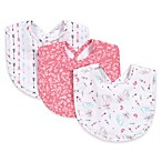 Trend Lab® 3-Piece Fox and Feathers Bib Set