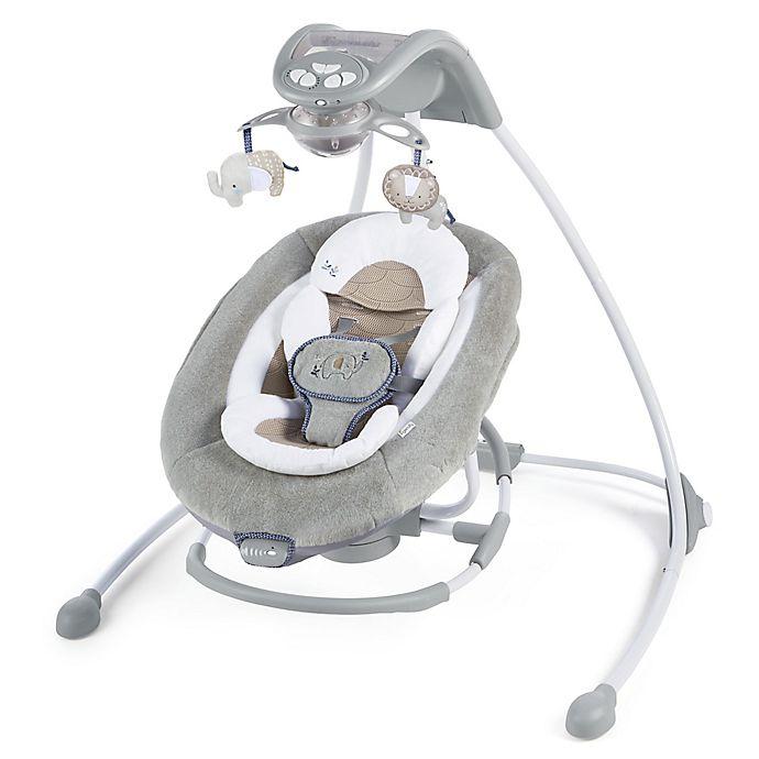 Alternate image 1 for Ingenuity™ DreamComfort™ InLighten Cradling Swing & Rocker™ in Townsend™