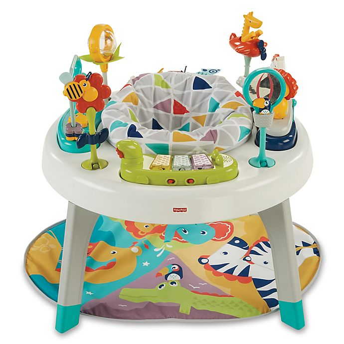 Alternate image 1 for Fisher-Price® 3-in-1 Sit-to-Stand Activity Center