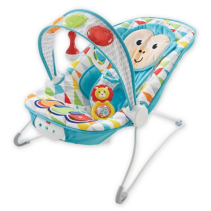 Alternate image 1 for Fisher-Price® Deluxe Kick 'n Play Musical Bouncer