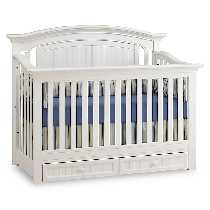 Alternate image 1 for Suite Bebe Winchester 4-in-1 Lifetime Crib in White