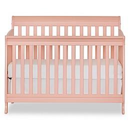 Suite Bebe Riley 4-in-1 Convertible Crib in Coral