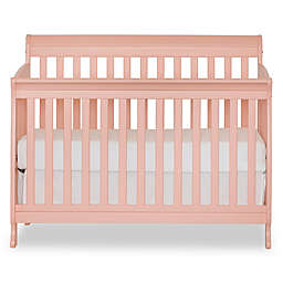 Suite Bebe Riley 4-in-1 Convertible Crib in Coral
