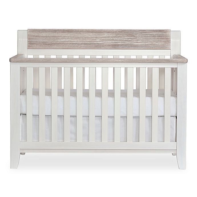 Alternate image 1 for Hayes 4-in-1 Lifetime Convertible Crib in White